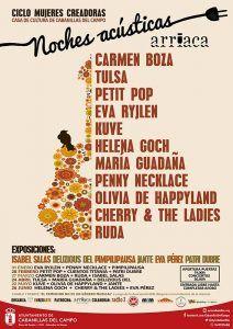 Cabanillas lanza un ciclo de conciertos en acústico y exposiciones, protagonizado íntegramente por mujeres
