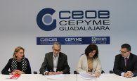 CEOE-Cepyme Guadalajara colaborará con Cáritas Diocesana en próximas campañas para incentivar la RSC