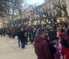 Cientos de conquenses cumplen con la tradición de bendecir a sus mascotas en el Día San Antón