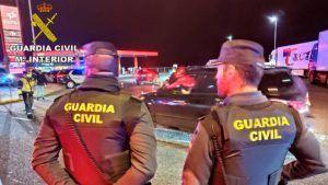 Detienen en Azuqueca a los culpables de robar cobre y dejar la autovía A-2 a oscuras