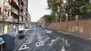 Dos heridos por arma blanca en una reyerta en la Plaza Capitán Boixareu Rivera en Guadalajara