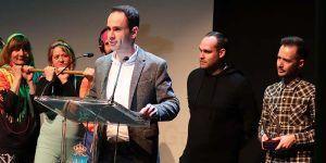 El alcalde de Cabanillas es de otra pasta recoge el Premio Atila y aprovecha para defender la gestión del Ayuntamiento con el Polígono ST-31