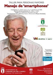 El Ayuntamiento de Cabanillas lanza un nuevo taller de manejo de smartphones para mayores, impartido por la Fundación Telefónica