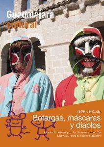 El Ayuntamiento de Guadalajara abre la inscripción para la nueva actividad programada para familias vinculada al Carnaval 2020