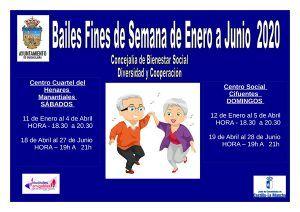 El Ayuntamiento de Guadalajara renueva su oferta de bailes para mayores para el primer semestre del año