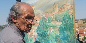 El próximo martes se inaugura en el Buero Vallejo la exposición de acuarelas de Benito Rufo Yebra, Rincones de Guadalajara