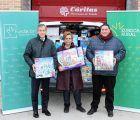 Fundación Eurocaja Rural dona una remesa de juguetes a Cáritas Diocesana de Toledo