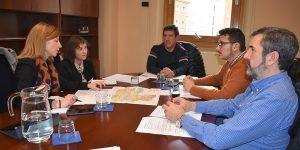 Junta, Diputación provincial y el Ayuntamiento de Cuenca mantienen un encuentro para avanzar en materia de sostenibilidad ambiental