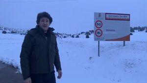"""López Maraver denuncia el mal estado de las carreteras provinciales y anuncia medidas para """"fortalecer nuestro mundo rural""""."""