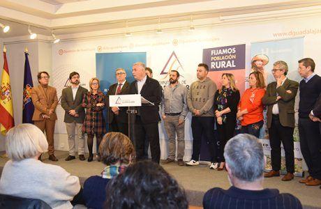 La Diputación, Red Eléctrica y AlmaNatura lanzan en Guadalajara 'Holapueblo', una iniciativa de emprendimiento rural para repoblar la España vacía