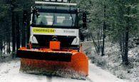 La Diputación tiene preparados diecisiete vehículos para intervenir este lunes en las carreteras de Cuenca ante la alerta naranja
