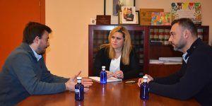 La Junta y el Ayuntamiento de Las Valeras mantienen una reunión de trabajo para abordar mejoras en infraestructuras y servicios públicos