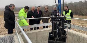 La nueva depuradora de Valdeaveruelo comenzará a prestar servicio en febrero para asumir las necesidades actuales y futuras del municipio