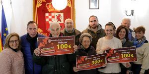 Los 5 Reyes Magos de Fuentenovilla entregan los premios de la II campaña en defensa del comercio local