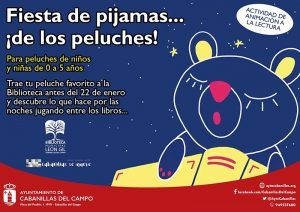 Los peluches de los peques harán fiesta de pijamas en la Biblioteca de Cabanillas