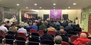Respaldo unánime a la gestión de la Junta de Cofradías, cuyo presupuesto ascenderá a 215.000 euros en 2020