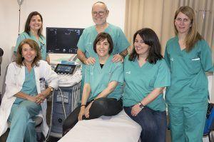 Varios servicios del Hospital de Guadalajara realizan una intervención pionera en un parto de alto riesgo por acretismo placentario