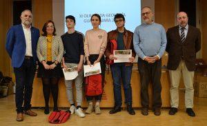 Álvaro García, David Bote y Cecilia Canalejas ganadores de la fase territorial de la XI Olimpiada de Geología en Guadalajara