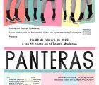 'Panteras' se representa este viernes en el Teatro Moderno