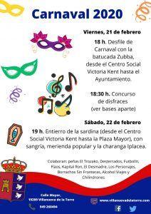 200221 carnaval 2020 villanueva   Liberal de Castilla