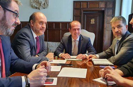 Ayuntamiento de Guadalajara y Junta firmarán un acuerdo en los próximos meses para iniciar la recuperación del Fuerte de San Francisco