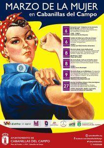 Cabanillas prepara un marzo dedicado a la mujer, con media docena de actividades
