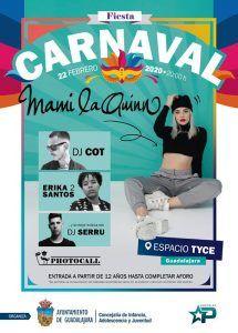 El Ayuntamiento de Guadalajara programa una gran fiesta de Carnaval para  menores en el TYCE este sábado
