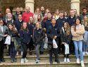 El Ayuntamiento de Sigüenza recibe a un grupo de estudiantes ingleses