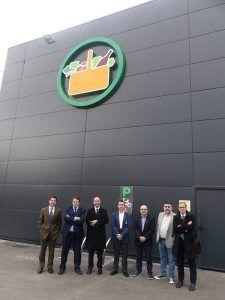 El Comité Ejecutivo de CEOE-Cepyme Cuenca conoce las nuevas instalaciones de Mercadona