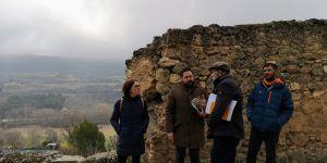 El próximo lunes comienzan las obras de rehabilitación del lienzo sur de la muralla del Castillo de la Piedra Bermeja de Brihuega