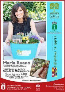 El primer libro sobre minijardinería escrito en español se presenta en Cabanillas