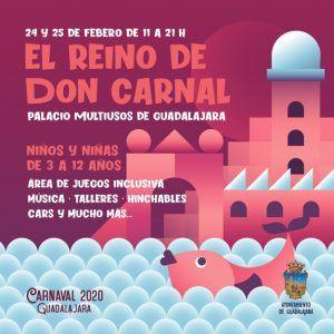 El Reino de Don Carnal abrirá sus puertas en próximo lunes en el Palacio Multiusos de Guadalajara