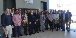 Empresas de alimentos de Cuenca presentan sus productos al embajador de Taiwán con el fin de exportar
