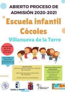 La Escuela Infantil de Villanueva de la Torre inicia su proceso de admisión para el curso 20202021