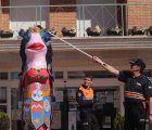 La espectacular sardina de la Escuela de Arte pone fin al Carnaval cabanillero