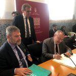 Los embajadores de Alemania y Francia en España mantienen un encuentro con estudiantes y profesores de la UCLM en el Campus de Toledo