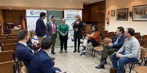Los empresarios de Alovera se informan de la FP Dual en un nuevo encuentro de Guadanetwork