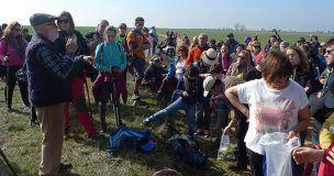 Más de 200 personas disfrutan de un sábado primaveral en El Cubillo de Uceda gracias a la iniciativa Campiñeando