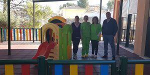 Nuevo patio de juegos en la Escuela Infantil de Huete