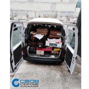 CEOE-CEPYME Guadalajara y sus asociaciones integradas coordinan un dispositivo para que las empresas puedan donar tanto alimentos como material sanitario para luchar contra el COVID-19