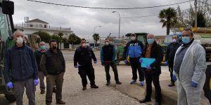 El Ayuntamiento de San Clemente inicia la fase de desinfección del municipio