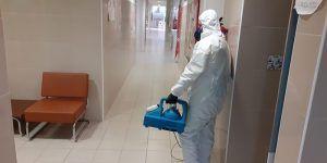 El Ayuntamiento de Villanueva de la Torre inicia una desinfección extraordinaria de los edificios municipales e instalaciones públicas