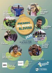 El ciclista Perico Delgado y el protagonista de Campeones Roberto Chinchilla, reconocidos en los Premios del Deporte de Alovera