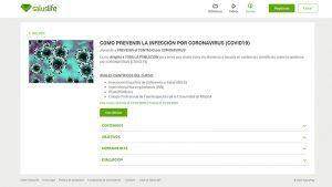 El Colegio de Enfermería de Cuenca lanza un curso online dirigido a la ciudadanía en el que explica cómo prevenir el coronavirus