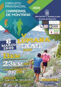 El domingo 8, V Lupiana Trail, primera prueba del Circuito de Carreras de Montaña Diputación de Guadalajara