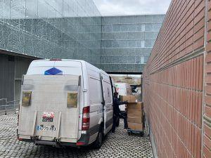 El Gobierno de Castilla-La Mancha distribuye hoy más de 480.320 artículos de protección para los profesionales de los centros sanitarios de la Comunidad Autónoma
