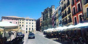 El tráfico de vehículos ligeros llega a descender en Cuenca más de un 75% durante las tardes