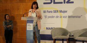 Fernández tiene claro que la fuerza de la mujer es imparable para construir una sociedad más completa, justa e igualitaria