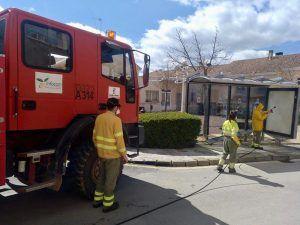 Geacam colabora con el Ayuntamiento de Cuenca en la desinfección de las pedanías