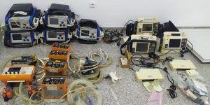 La empresa Ambulancias Conquenses S.L. dona al Hospital Virgen de la Luz 5 respiradores artificiales y 8 monitores desfibriladores